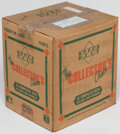 Baseball Cards:Sets, 1989 Upper Deck Baseball Sealed Factory Set Case With 15 Sets. ...