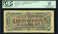 Confederate Notes:1864 Issues, Kimball House Ad Note T66 $50 1864 PCGS Apparent Very Fine 20.. ...