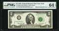 Error Notes:Mismatched Serial Numbers, Mismatched Serial Numbers Error Fr. 1935-B $2 1976 Federal Reserve Note. PMG Choice Uncirculated 64 EPQ.. ...