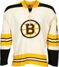 Hockey Collectibles:Uniforms, 1970-71 Bobby Orr Game Worn Boston Bruins Jersey--Photo Matched!...