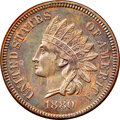 Proof Indian Cents: , 1880 1C PR63 Brown NGC. NGC Census: (27/70). PCGS Population: (23/94). CDN: $170 Whsle. Bid for NGC/PCGS PR63. Mintage 3,95...