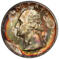 Washington Quarters, 1953-S 25C MS66 PCGS. This lot will also include a: 1961 25C MS65 PCGS.... (Total: 2 coins)