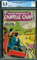 Silver Age (1956-1969):Mystery, The New Adventures of Charlie Chan #4 (DC, 1958) CGC VG- 3.5 White pages.