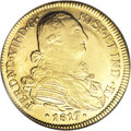 Colombia, Colombia: Ferdinand VII gold 8 Escudos 1817NR-JF,...