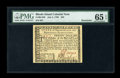 Colonial Notes:Rhode Island, Rhode Island July 2, 1780 $20 PMG Gem Uncirculated 65 EPQ....
