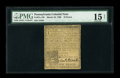 Colonial Notes:Pennsylvania, Pennsylvania March 10, 1769 18d PMG Choice Fine 15 Net....