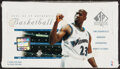 Basketball Cards:Unopened Packs/Display Boxes, 2001 SP Authentic Basketball Unopened Box With 24 Packs. ...