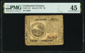 Continental Currency July 22, 1776 $6 PMG Choice Extremely Fine 45