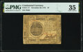 Continental Currency November 29, 1775 $7 PMG Choice Very Fine 35