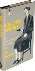 Books:Mystery & Detective Fiction, Ed McBain. Killer's Wedge. New York: Simon and Schuster, [1959]. First edition. Inscribed by the author to Otto Pe...