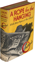 Books:Mystery & Detective Fiction, Nigel Morland. A Rope for the Hanging. New York: Farrar & Rinehart, [1939]. First American edition. Inscribed to O...