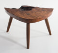 Furniture, Mira Nakashima (American, b. 1942). Value of the Void, 2020. Claro walnut burl. 11 x 20 x 15 inches (27.94 x 50.8 x 38.1...