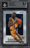 Basketball Cards:Singles (1980-Now), 1996-97 Skybox E-X2000 Credentials Kobe Bryant #30 BGS NM-MT+ 8.5 - #'d 465/499. ...