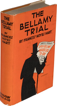 Frances Noyes Hart. The Bellamy Trial. Garden City: Doubleday, Page & Company, 1927. First edit
