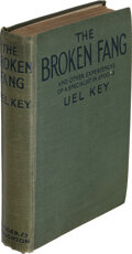 Books:Mystery & Detective Fiction, Uel Key. The Broken Fang and Other Experiences of a Specialist in Spooks. London: Hodder and Stoughton, [n.d., 1920]...