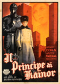 Movie Posters:Foreign, The Little King (Titanus, 1939). Folded, Fine. Fir...