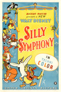 Movie Posters:Animation, Silly Symphony (United Artists, 1934). Fine+ on Linen....