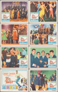 """Movie Posters:Rock and Roll, Don't Knock the Twist (Columbia, 1962). Very Fine-. Lobby Card Set of 8 (11"""" X 14""""). Rock and Roll.. ... (Total: 8 Items)"""