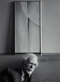 Photographs, Ansel Adams (American, 1902-1984). Alfred Stieglitz and Paintings by Georgia O'Keeffe at An American Place, New York City...