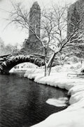 Photographs, Alfred Eisenstaedt (American, 1898-1995). Central Park After Snow Storm, 1959. Gelatin silver, 1990 by Time Life Photo L...