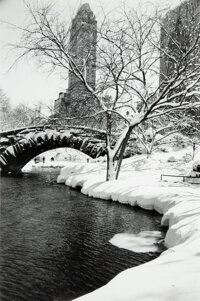 Alfred Eisenstaedt (American, 1898-1995) Central Park After Snow Storm, 1959 Gelatin silver, 1990 by