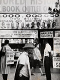 Photographs, Leonard Freed (American, 1929-2006). Pickets in Front of Lewis H. Michaux's African National Memorial Bookstore, Harlem, N...