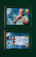 Baseball Cards:Sets, 2000 Upper Deck Kit Young Hawaii Complete Set (6) With Namath, Howe, Erving, Seaver and Young. ...