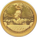 Medals and Tokens, 1867 Cyrus W. Field Congressional Gold Medal. Julian PE-10. MS62 NGC. ...