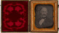 Photography:Daguerreotypes, California Gold Rush: Important From-Life Daguerreotype of John Sutter....