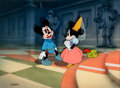 Animation Art:Limited Edition Cel, Brave Little Tailor Mickey and Minnie Mouse Limited Edition Cel 316/500 (Walt Disney, 1938/1992)....