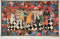 Prints & Multiples, Faith Ringgold, (American, b. 1930). Groovin High, 1996. Silkscreen. 32.5 x 44.5 inches (82.55 x 113.03 cm). Edition 420...