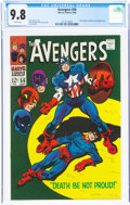 Silver Age (1956-1969):Superhero, The Avengers #56 (Marvel, 1968) CGC NM/MT 9.8 White pages....