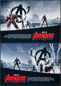 """Movie Posters:Action, Avengers: Endgame (Walt Disney Studios, 2019). Rolled, Very Fine+. AMC IMAX Mini Poster Set of 2 (15.5"""" X 11"""") SS. Action.. ... (Total: 2 Items)"""