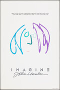 "Movie Posters:Rock and Roll, Imagine: John Lennon (Warner Bros., 1988). Rolled, Very Fine+. One Sheet (27"" X 40.5"") SS Teaser, Purple/Blue Style, John Le..."