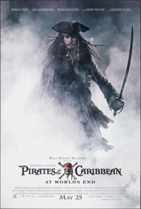 "Pirates of the Caribbean: At World's End (Buena Vista, 2007). Rolled, Very Fine+. One Sheet (27"" X 40"") DS Adv..."