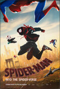 """Movie Posters:Action, Spider-Man: Into the Spider-Verse & Other Lot (Sony, 2018). Rolled, Very Fine. One Sheets (2) (27"""" X 40"""") DS Advance. Action... (Total: 2 Items)"""