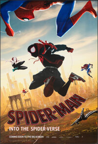 """Spider-Man: Into the Spider-Verse & Other Lot (Sony, 2018). Rolled, Very Fine. One Sheets (2) (27"""" X 40"""")..."""