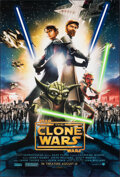 "Movie Posters:Animation, Star Wars: Clone Wars & Other Lot (Warner Bros., 2008). Rolled, Very Fine. One Sheets (2) (27"" X 40"") DS Advance. Animation.... (Total: 2 Items)"