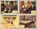 """Movie Posters:Film Noir, In a Lonely Place (Columbia, 1950). Overall: Very Fine+. Title Lobby Card & Lobby Cards (3) (11"""" X 14""""). Film Noir.. ... (Total: 4 Items)"""