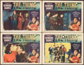 """Movie Posters:Science Fiction, The Thing from Another World (RKO, 1951). Fine+. Lobby Cards (4) (11"""" X 14""""). Science Fiction.. ... (Total: 4 Items)"""