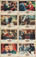 """Movie Posters:Sports, The Winning Team (Warner Bros., 1952). Fine/Very Fine. Lobby Card Set of 8 (11"""" X 14""""). Sports.. ... (Total: 8 Items)"""