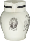 Political:3D & Other Display (pre-1896), George Washington: Most Unusual Staffordshire Pitcher....