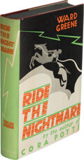 Books:Mystery & Detective Fiction, Ward Greene. Ride the Nightmare. New York: Jonathan Cape and Harrison Smith, [1930]. First edition....