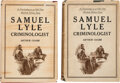 Books:Mystery & Detective Fiction, Arthur Crabb. Samuel Lyle Criminologist. New York: The Century Co., 1920. First edition. ... (Total: 2 )