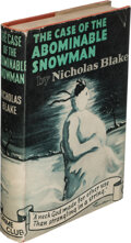 Books:Mystery & Detective Fiction, Nicholas Blake. The Case of the Abominable Snowman. London: Crime Club, [1941]. First edition....