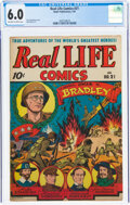 Golden Age (1938-1955):Non-Fiction, Real Life Comics #21 (Nedor Publications, 1945) CGC FN 6.0 Off-white to white pages....