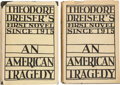 Books:Mystery & Detective Fiction, Theodore Dreiser. An American Tragedy. New York: Boni & Liveright, 1925. First edition of this Haycraft-Queen Corner... (Total: 2 )