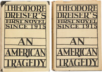 Theodore Dreiser. An American Tragedy. New York: Boni & Liveright, 1925. First edition of this