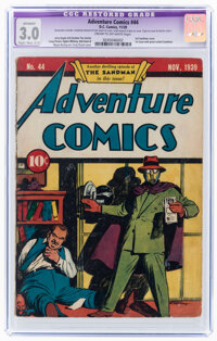 Adventure Comics #44 (DC, 1939) CGC Apparent GD/VG 3.0 Slight to Moderate (C-2) Cream to off-white pages