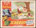 """Movie Posters:Animation, The Adventures of Ichabod and Mr. Toad (RKO, 1949). Fine. Lobby Card (11"""" X 14""""). Animation.. ..."""